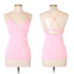 Lululemon Pink Active Top NWOT